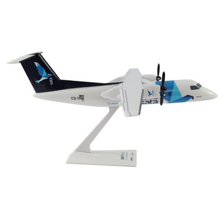 Avião plástico Azores Airlines Sata Açores 1/100 Dash 200 Bombardier