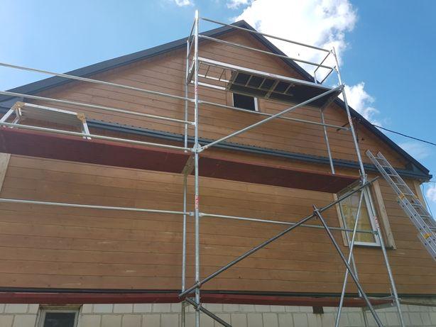 Malowanie dachu i elewacji