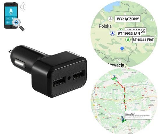 GPS ŁADOWARKA PODSŁUCH lokalizator nagrywanie sd