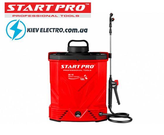 12 ЛИТРОВ ! Опрыскиватель аккумуляторный Start Pro SK-12 (Гарантия)