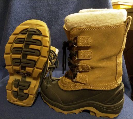 Чоботи зимові для хлопчика Lands' End Snow Pac Boots - Insulated