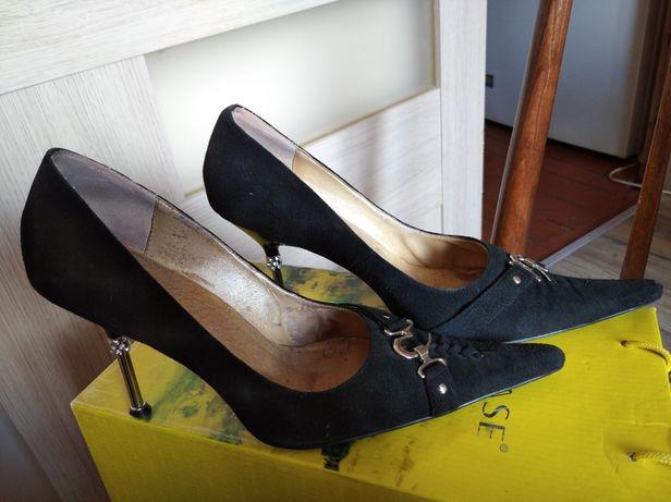 Туфлі замшеві. Осінь, весна