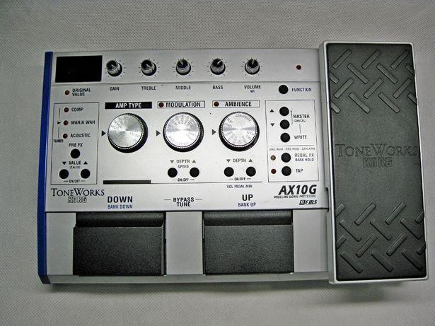 Korg AX-10G multiefekt gitarowy