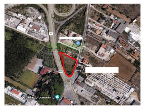 Terreno em Montelavar para arrendamento.