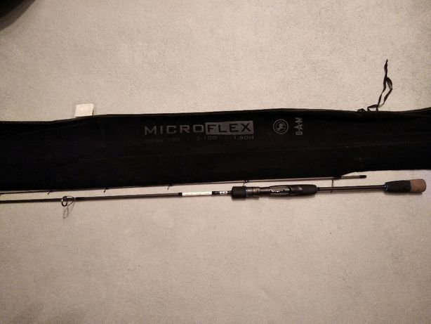 Spinning DAM MICROFLEX 190cm 2-10g