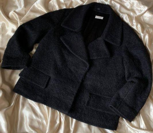 Женское дизайнерское пальто Dries Van Noten р.М шерсть мохер альпака