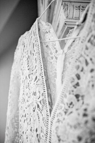 NOWA koronkowa suknia ślubna (i nie tylko) Love Triangle 34/XS vintage