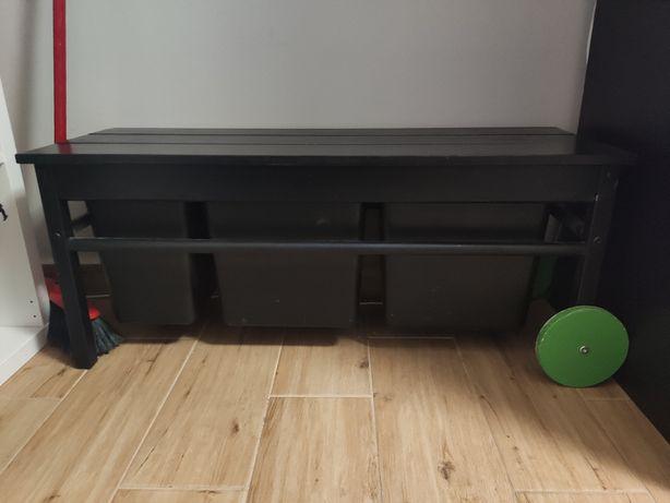 Ławka z pojemnikami Ikea