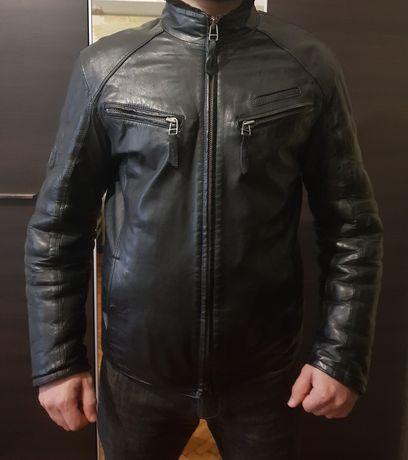 Кожанная Дубленка /кожанка ,куртка