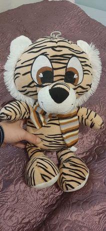 Tygrys Maskotka tygrysek.  Zabawka puszysta 43cm