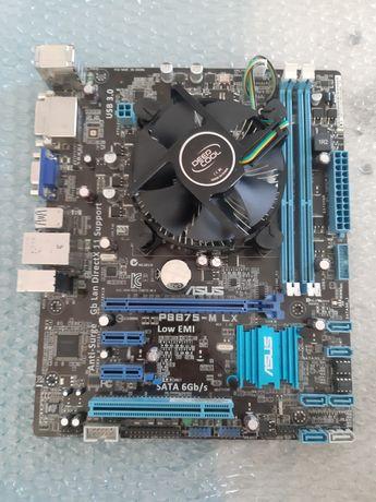 Мат плата, процессор i5 3470 ,  ASUS P8B75-M LX