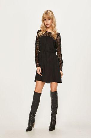 ONLY Sukienka czarna elegancka S 36