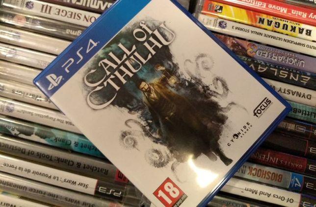 Call Of Cthulhu PS4 --- możliwość zamiany SKLEP