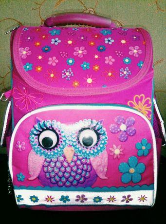 Каркасный школьный рюкзак с ортопедической спинкой ТМ 1 Вересня