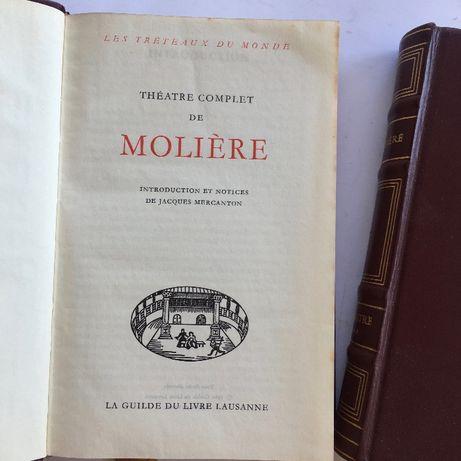 Théâtre: Moliére - Jean Anouilh 1962 La Guilde du Livre