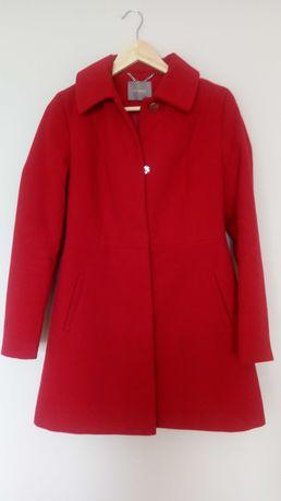 Płaszcz damski czerwony orsay r 34