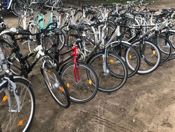 Pakiet Rowerów miejskich używanych z Niemiec