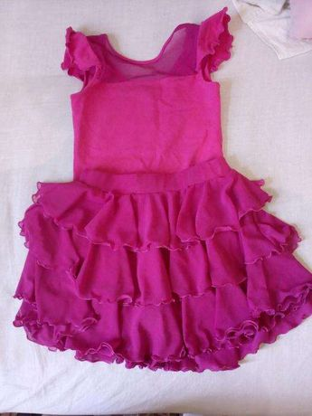 Купальник+юбка для танцев