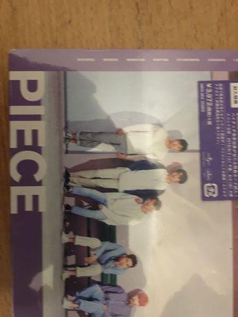 """k-Pop Edição limitada 2cd/dvd de Monsta X """"Piece"""". Caixa selada."""