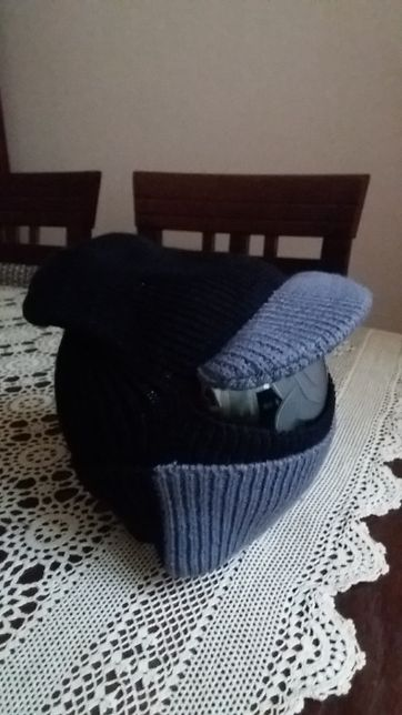 Шапка з дашком, шапка с козырьком, балаклава для мальчика