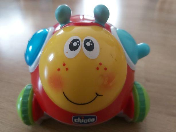 Brinquedo CHICCO GO GO POP Joaninha - COMO NOVO