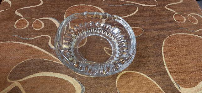 Popielniczka szklana prl kryształ