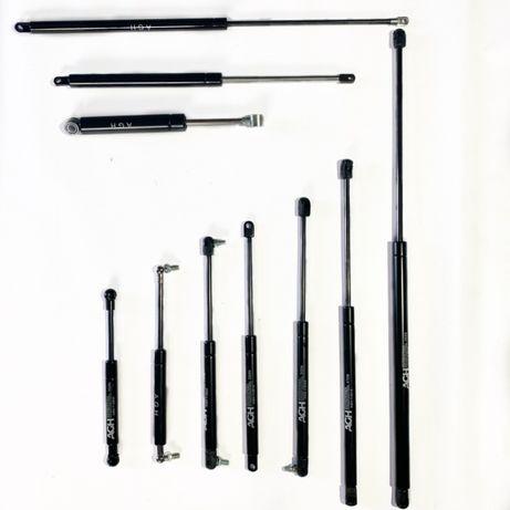 Амортизаторы телескопические, рамок, дверей, форточек и тд