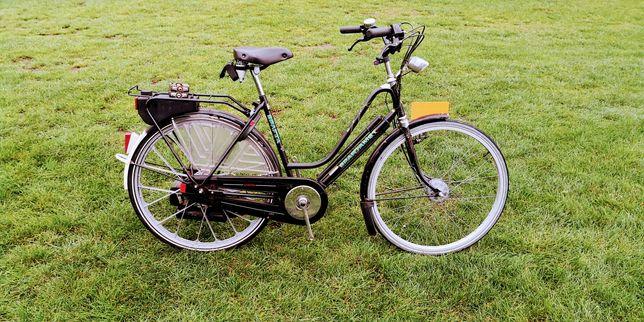 Rower Spartamet z silnikiem spalinowym Sachsa.