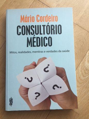 """Livro """"Consultório médico"""" , de Mário Cordeiro"""
