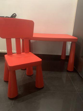 Stół i krzesło dla dzieci