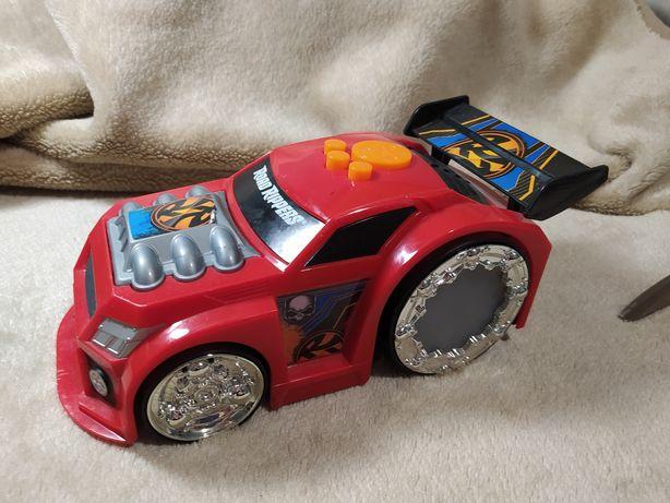 Samochód grający, jeżdżący, świecący