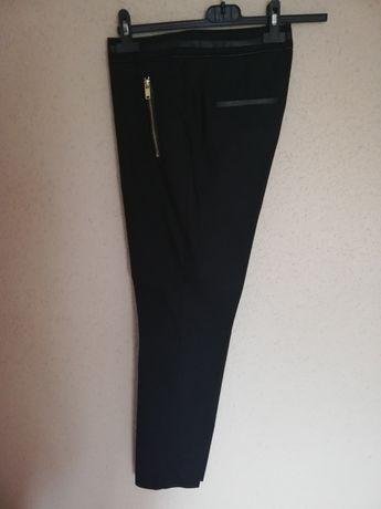 H&M czarne spodnie damskie