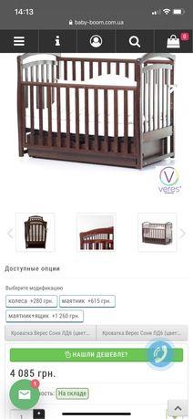 Кроватка Верес Соня д-6