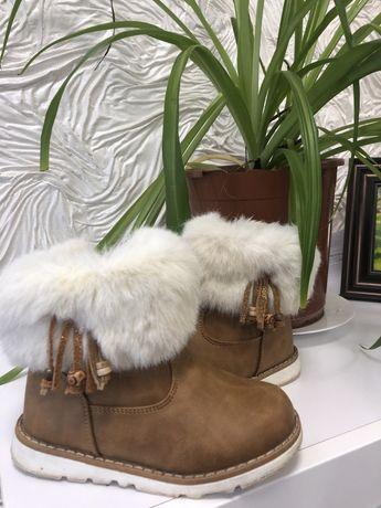 Сапоги для девочки 28 ботинки