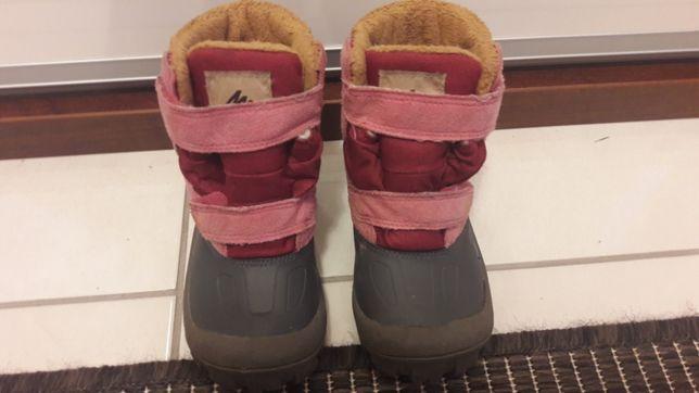Śniegowce buty zimowe DECATHLON r 23