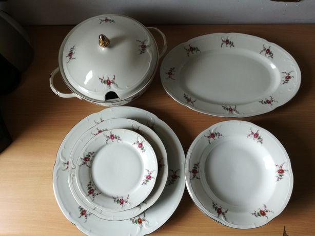 porcelana 'Włocławek' serwis obiadowy zastawa stołowa