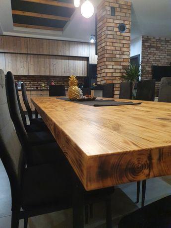 Stół / Stół do Jadalni / Loft / Industrial / Drewno/ Metal/ Pod wymiar