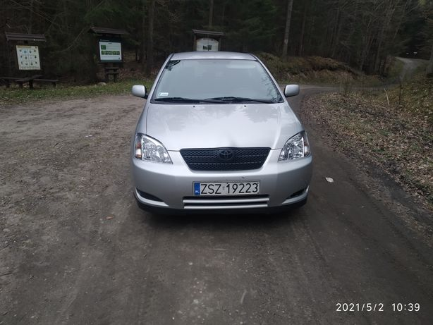 Toyota Corolla E12 1.6 benzyna możliwa zamiana