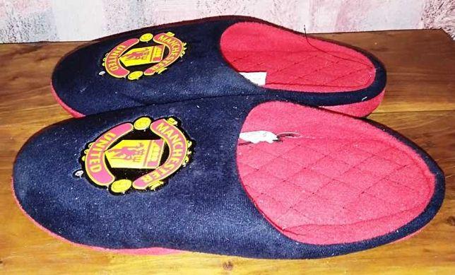 Детские тапки с символикой FC Manchester United, 37р