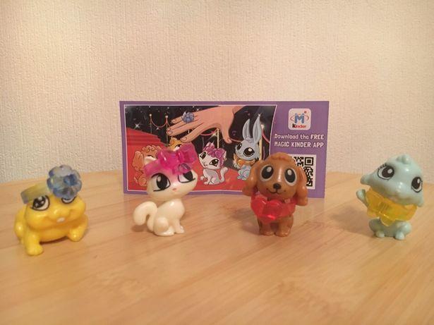 Животные с колечками 2015 г. игрушки КИНДЕР
