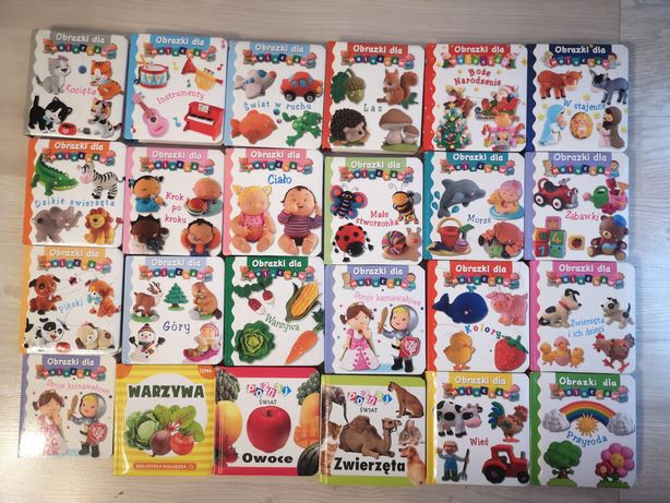 Książki  obrazki dla Maluszków małe książeczki Emilie beaumont
