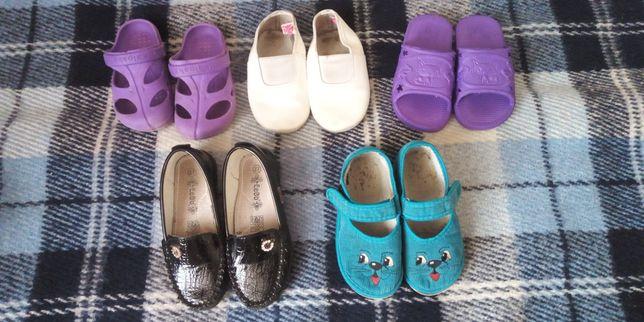 Обувь на девочку 4-5 лет, цена за все!