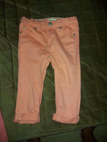 Spodnie dziewczęce 80
