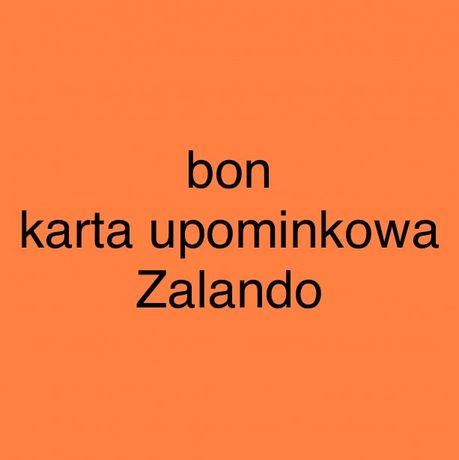 Bon karta upominkowa do Zalando na kwote 991 zł