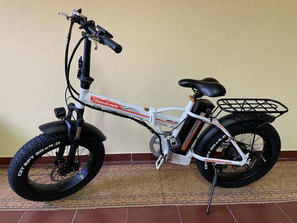 Bicicleta Elétrica Dobrável 500W