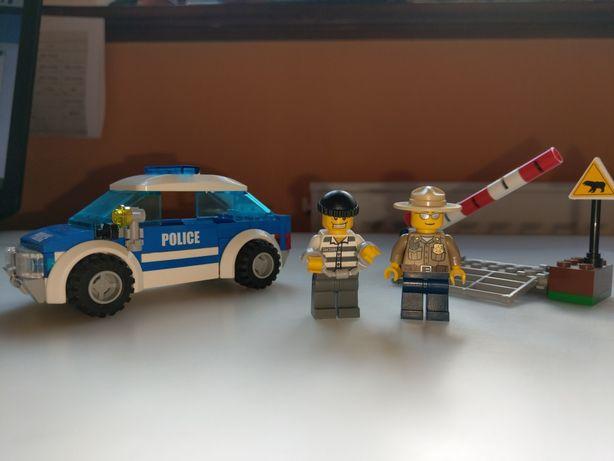 Lego City 4436 Policja Wóz Patrolowy + oryginalne opakowanie