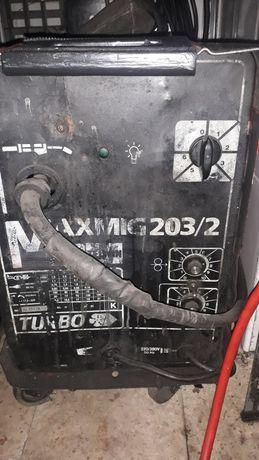 Máquina de soldar semi automatica avariada