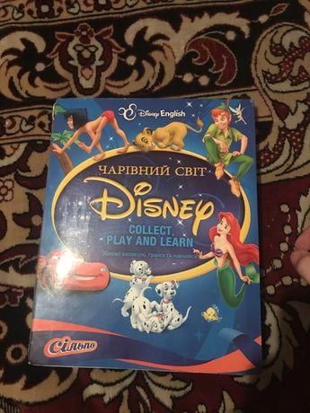 Карточки дисней Disney Сильпо