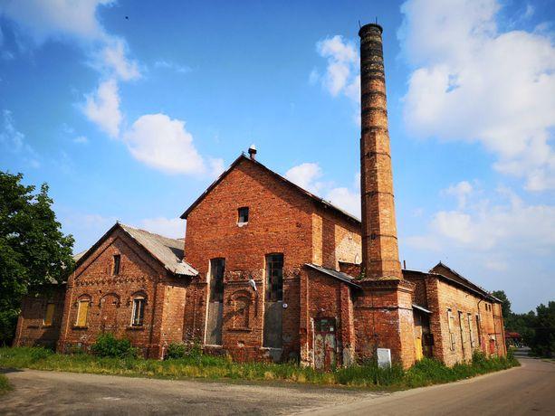 Janów: budynek przemysłowy