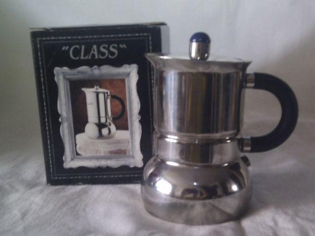 Гейзерная кофеварка GAT, Италия Class line, нерж. сталь 2 чашки